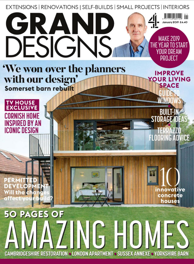 GRAND DESIGNS - JANUARY 2019 1