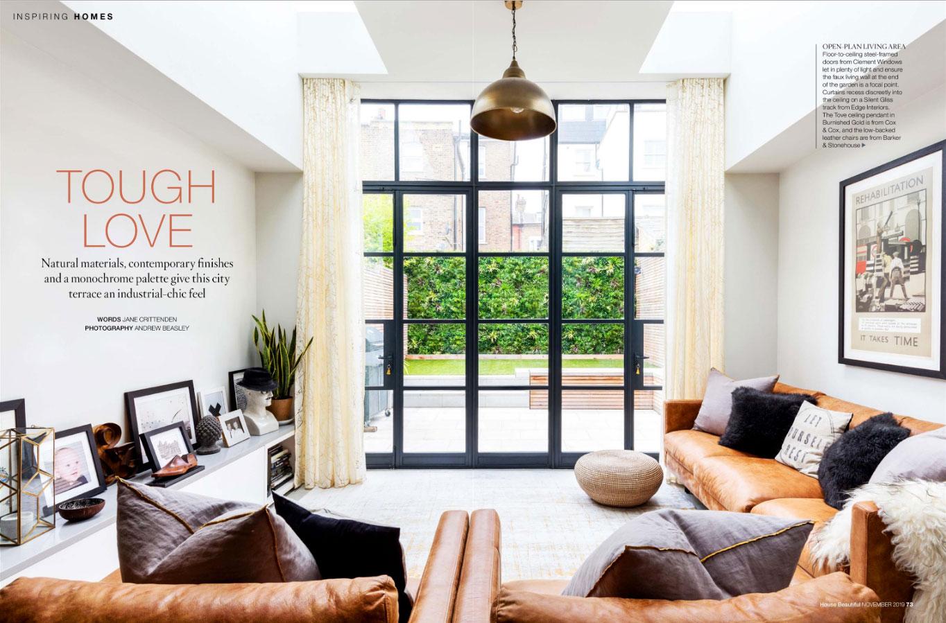 HOUSE BEAUTIFUL – NOVEMBER 2019