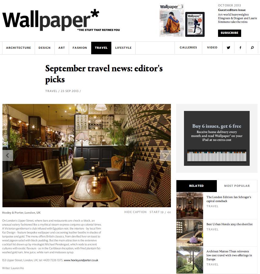 WALLPAPER - OCTOBER 2013 1