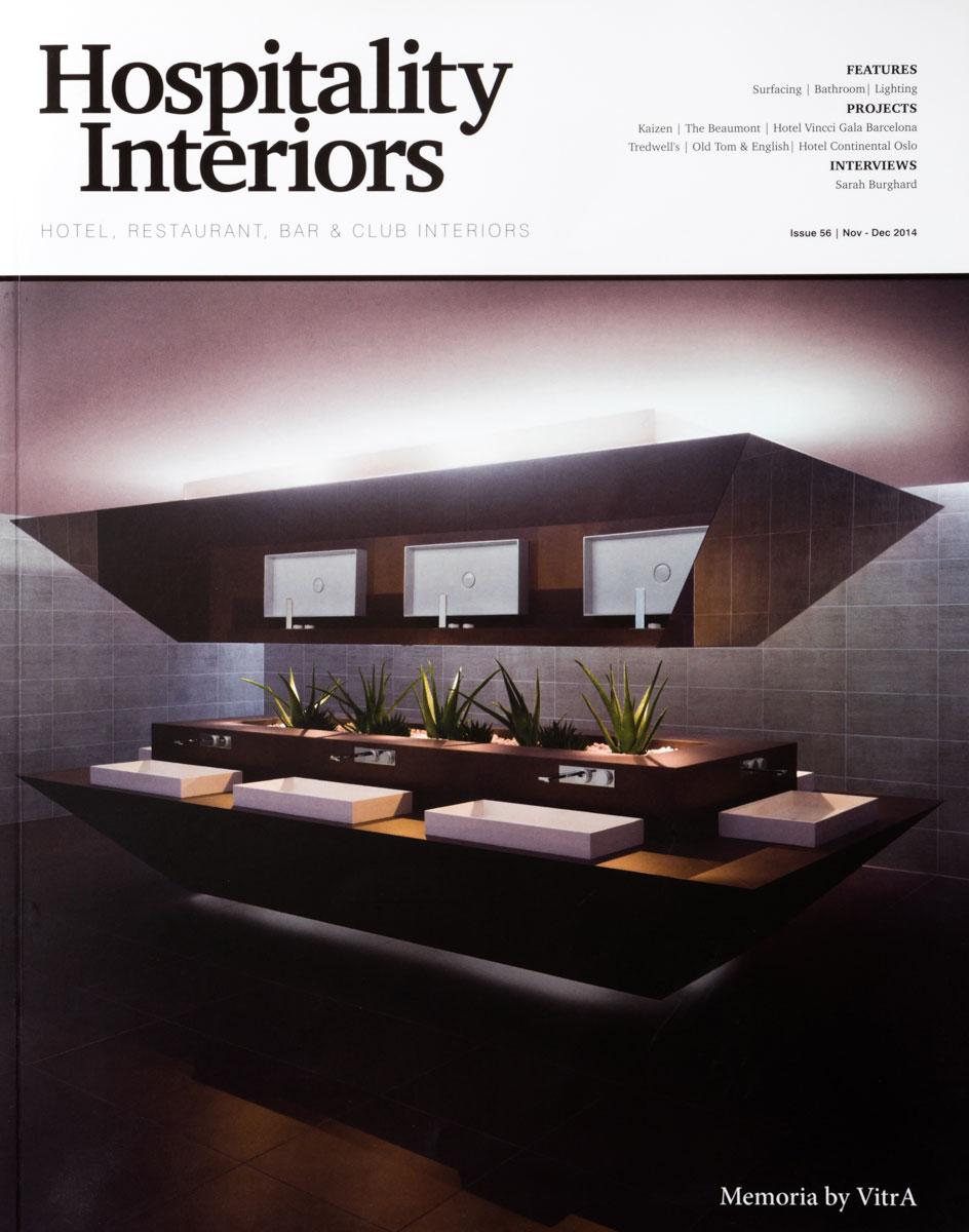 HOSPITALITY INTERIORS – DECEMBER 2014