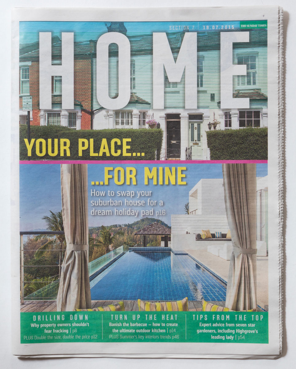 THE SUNDAY TIMES – JULY 2015