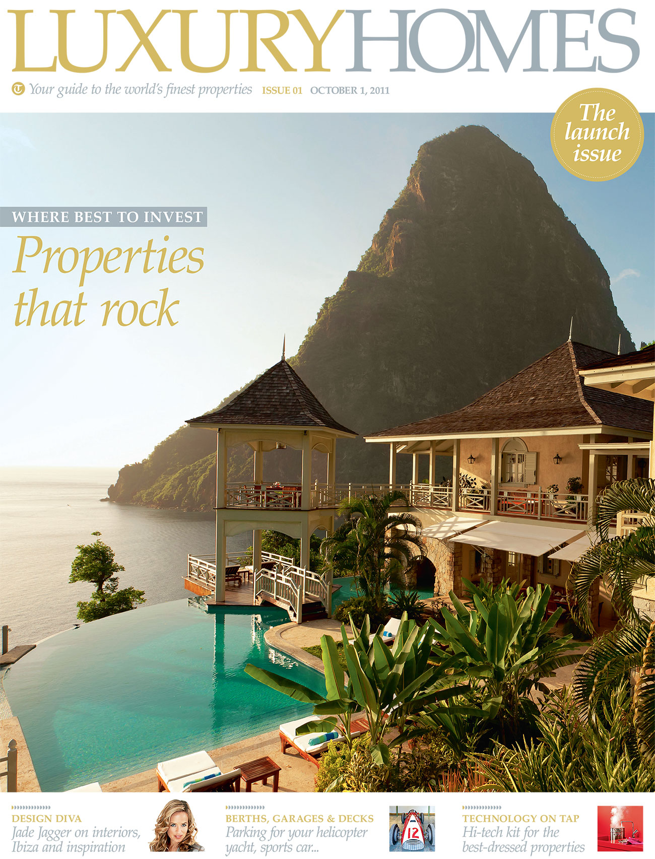THE DAILY TELEGRAPH  – LUXURY HOMES – OCTOBER 2011