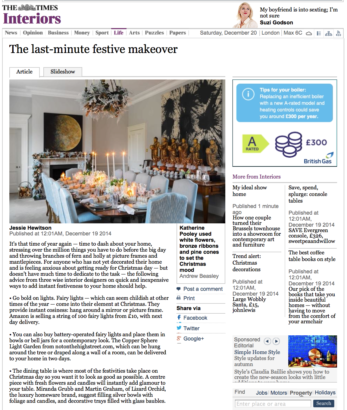THE TIMES - DECEMBER 2014 1