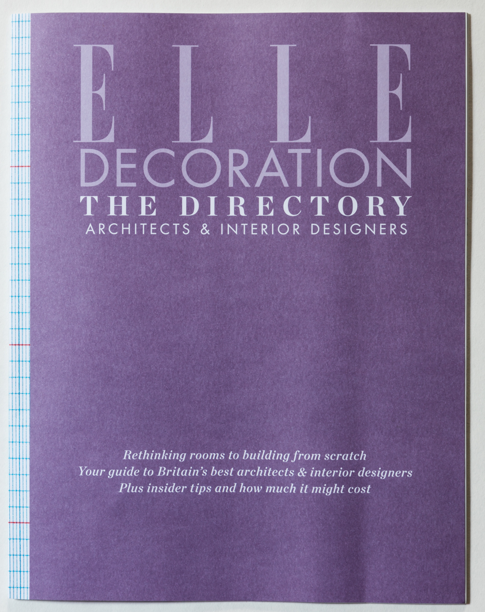 ELLE DECORATION – THE DIRECTORY – OCTOBER 2015