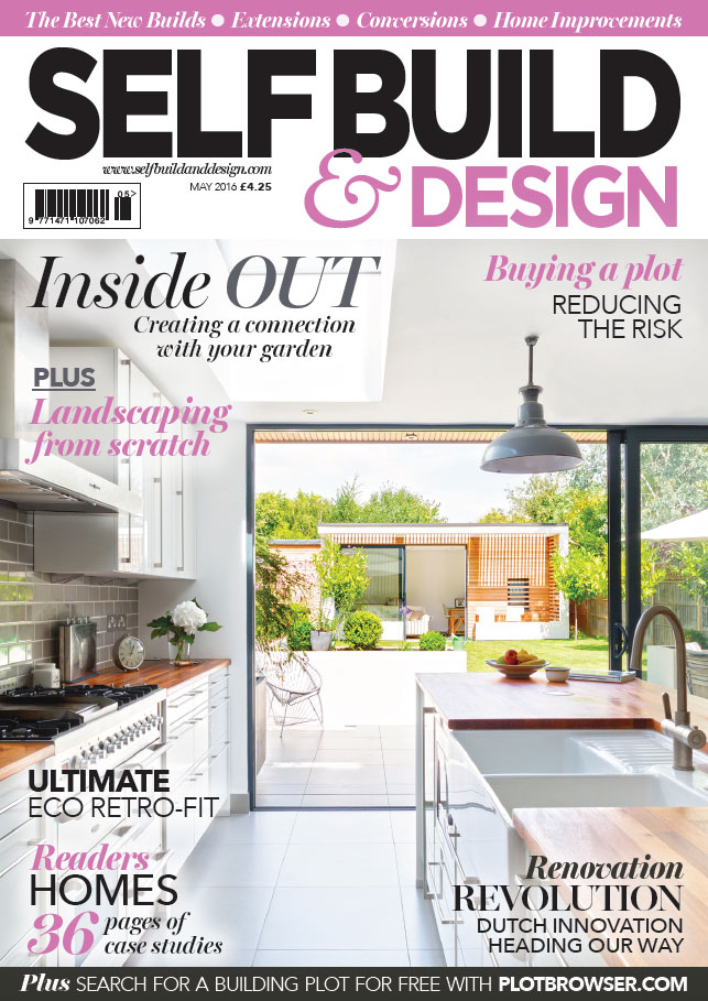 SELF BUILD & DESIGN - MAY 2016 1