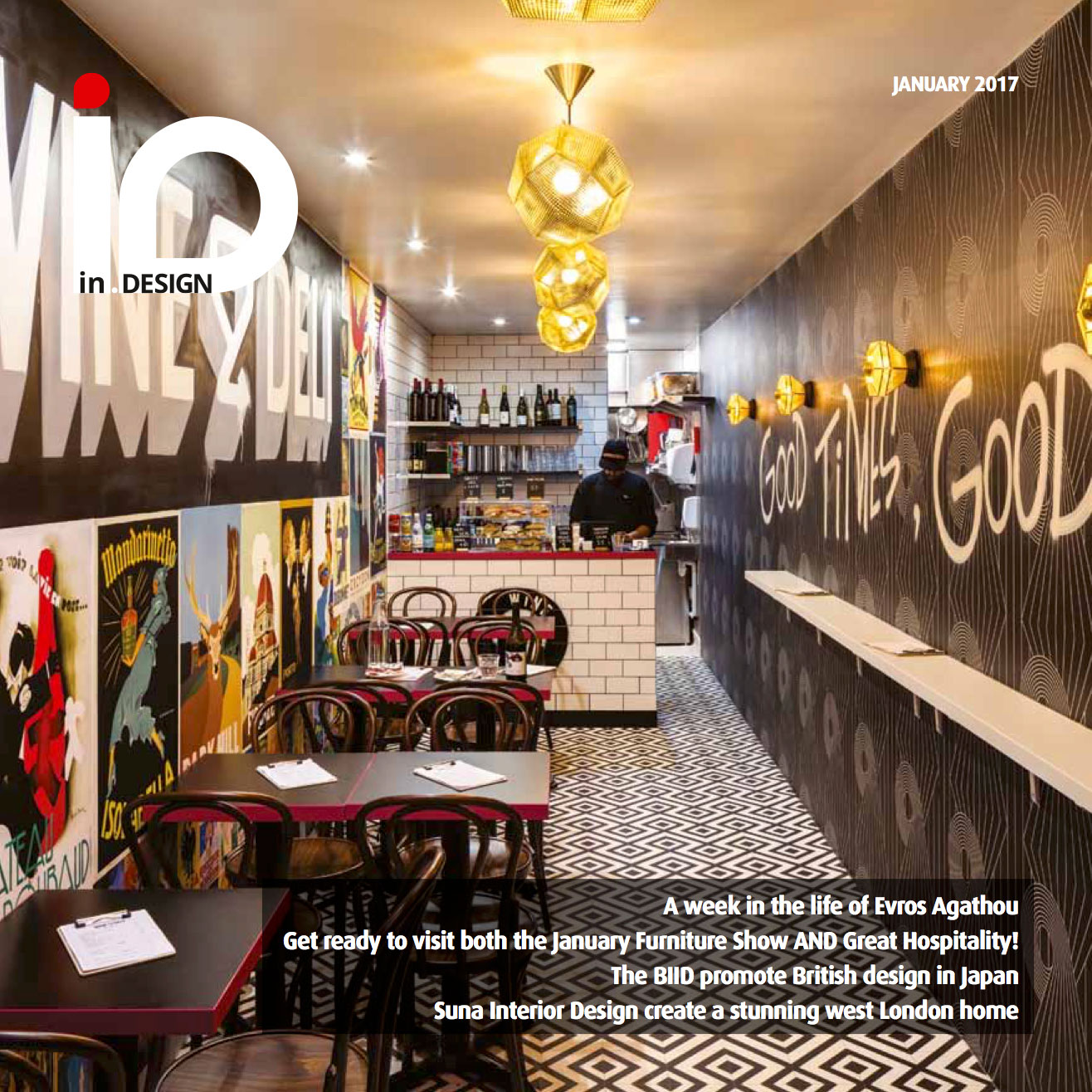 IN DESIGN – COVER SHOT – JANUARY 2017
