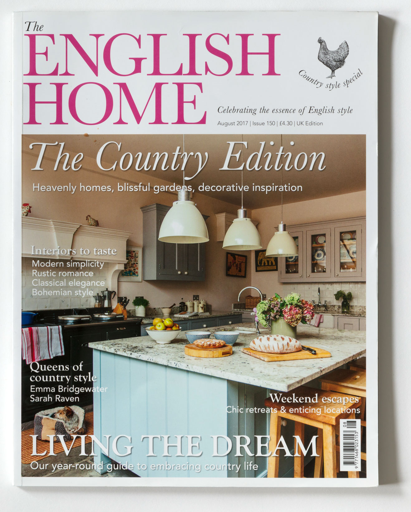 THE ENGLISH HOME – AUGUST 2017