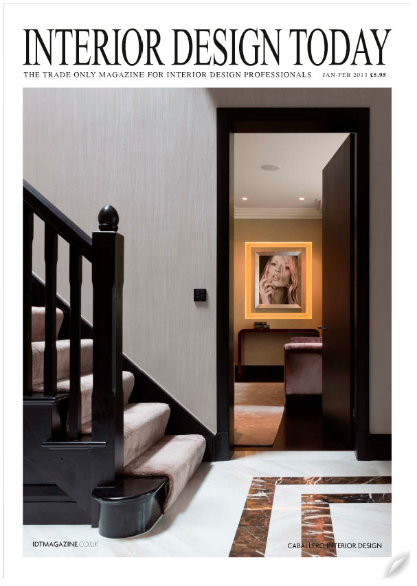 INTERIOR DESIGN TODAY - COVER SHOT - JANUARY 2013 1