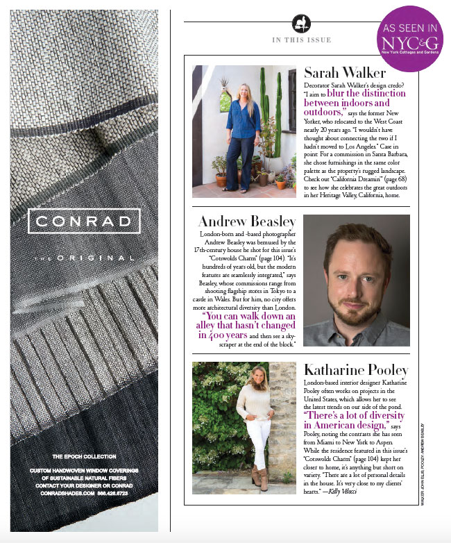 NEW YORK COTTAGES & GARDENS - JANUARY 2016 2