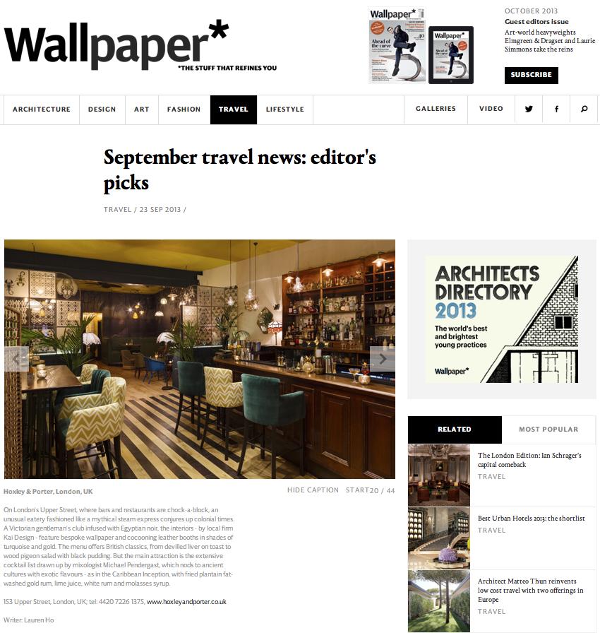 WALLPAPER – OCTOBER 2013