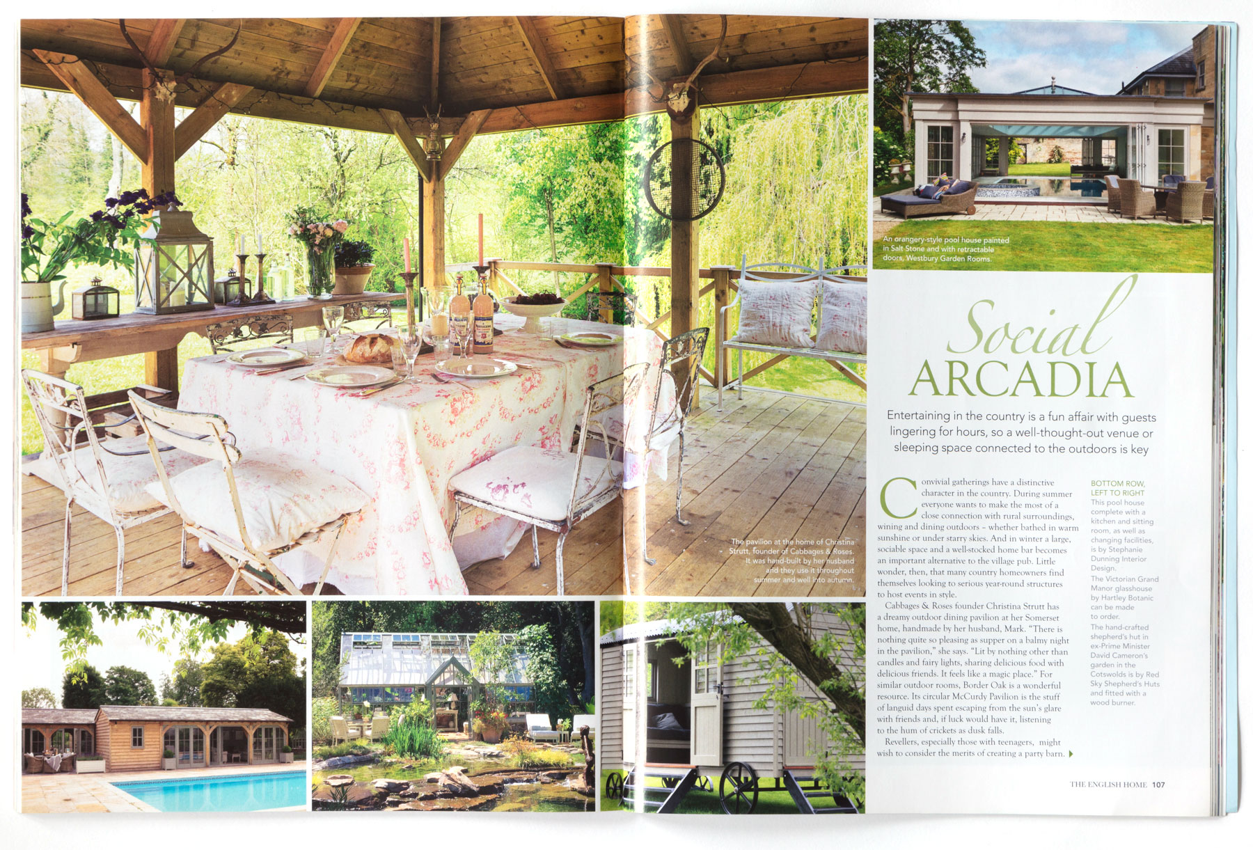 THE ENGLISH HOME - AUGUST 2017 2