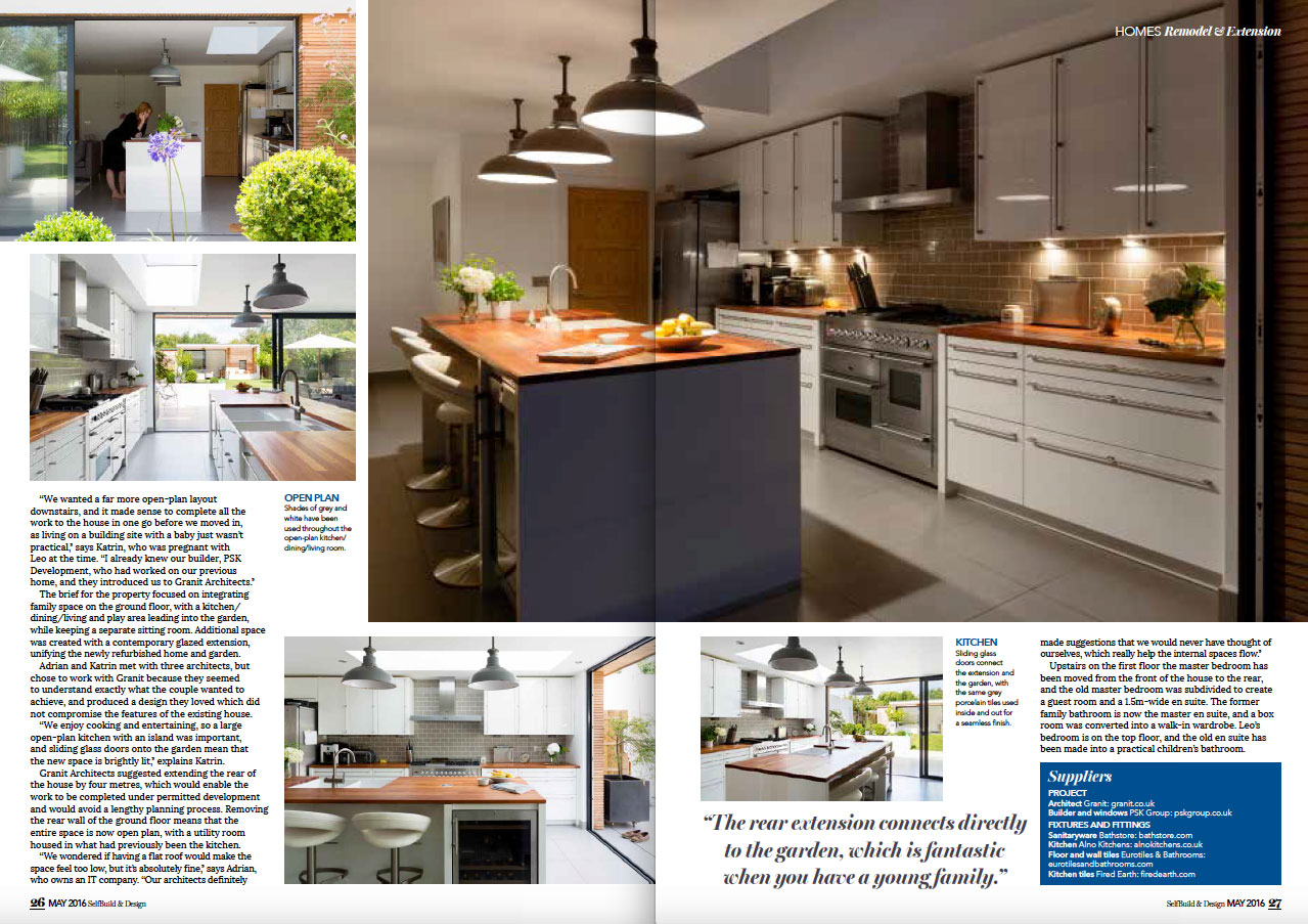 SELF BUILD & DESIGN - MAY 2016 3