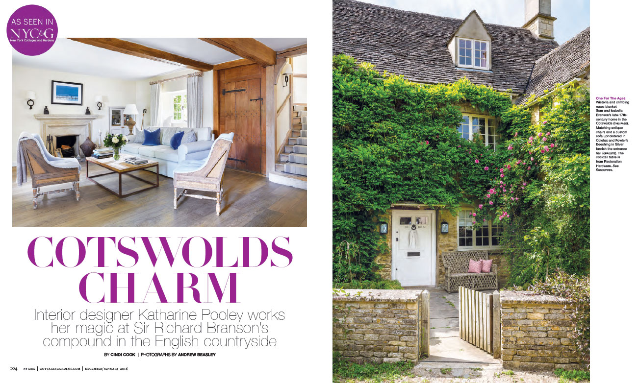 NEW YORK COTTAGES & GARDENS - JANUARY 2016 3