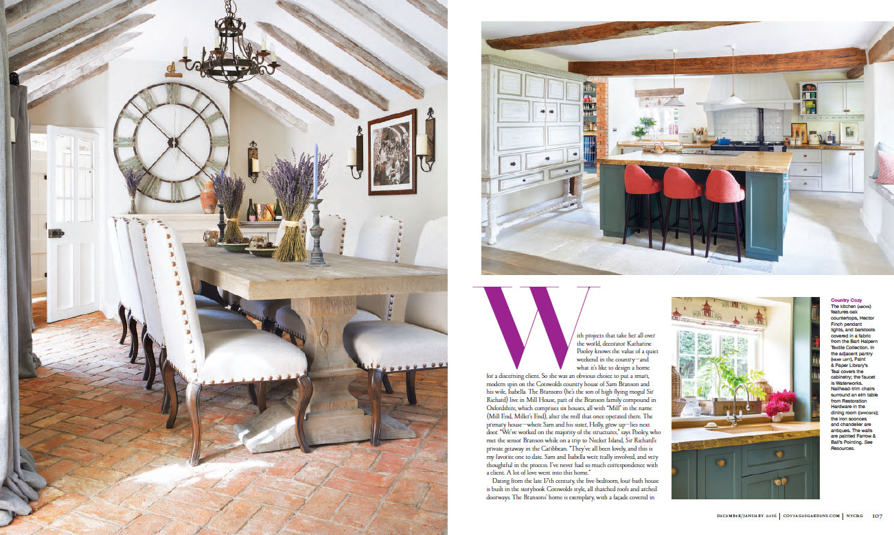 NEW YORK COTTAGES & GARDENS - JANUARY 2016 4