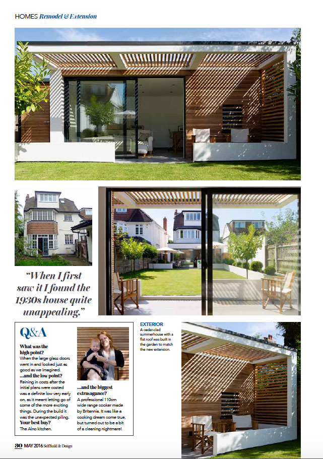 SELF BUILD & DESIGN - MAY 2016 5