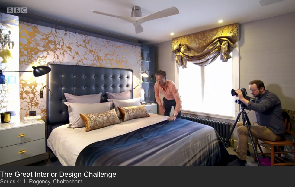 BBC1 - THE GREAT INTERIOR DESIGN CHALLENGE - SERIES 4 - JANUARY 2017 1